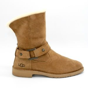 UGG Cedric Water Resistant Genuine Shearling Boot